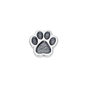 Storie Silver Paw Charm