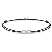 Thomas Sabo Little Secrets Black Infinity Bracelet