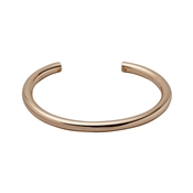 Pilgrim Dolag Rose Gold Plated Bangle