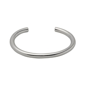 Pilgrim Dolag Silver Plated Bangle