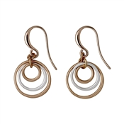 Pilgrim Iona Rose Gold Plated Earrings