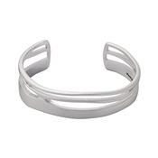 Pilgrim Saundra Silver Plated Bangle