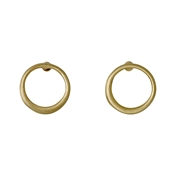 Pilgrim Iona Gold Plated Stud Earrings