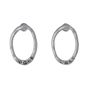 Pilgrim Raghnaid Silver Plated Stud Earrings