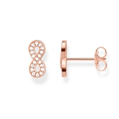 Thomas Sabo Rose Gold Infinity Stud Earrings