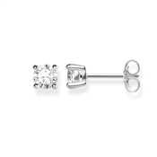 Thomas Sabo Silver Square Stud Earrings