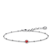 Thomas Sabo Filigree Red Bracelet