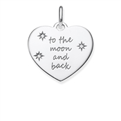 Thomas Sabo To the Moon and Back Pendant