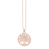 Thomas Sabo Tree of Life Rose Gold Necklace