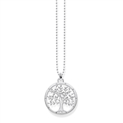 Thomas Sabo Tree of Life Silver Necklace