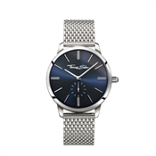 Thomas Sabo Navy Dial Silver Mesh Watch