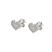 Nomination Angel Love Silver Stud Earrings