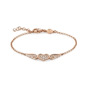 Nomination Angel Rose Gold Winged Heart Bracelet
