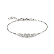 Nomination Angel Silver Winged Heart Bracelet