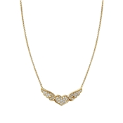 Nomination Angel Winged Heart Gold Necklace