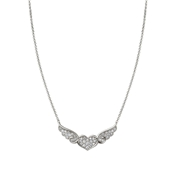 Nomination Angel Winged Heart Silver Necklace