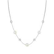Nomination Bella Moonlight Pearl and Crystal Necklace