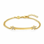 Nomination Stella Gold Bar Bracelet