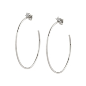 Nomination Stella Silver Large Hoop Earrings