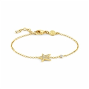 Nomination Stella Gold Star Bracelet