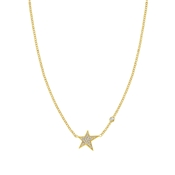 Nomination Stella Gold Star Necklace