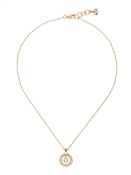Ted Baker Gold Cadhaa Concentric Crystal Pendant Necklace