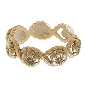 Olivia Burton Gold Floral Charm Ring