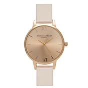Olivia Burton Midi Dial Blush & Gold Watch