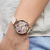 Olivia Burton Vegan Friendly Flower Nude Watch