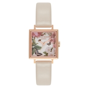 Olivia Burton Vegan Friendly Enchanted Garden Square Dial Watch
