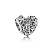 Blooming Heart Charm by Pandora