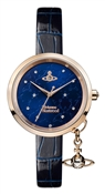 Vivienne Westwood Bow II Midnight Blue Dial Watch