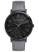 Larsson & Jennings  LUGANO 38MM GUILLOCHE DIAL BLACK