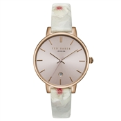Ted Baker Kate Rose Gold Chelsea Print Watch