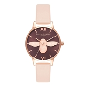 Olivia Burton Midi 3D Bee Nude Peach Watch