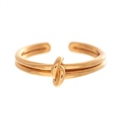 Olivia Burton Gold Forget Me Knot Ring