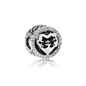 PANDORA Disney Mickey & Minnie Love Charm