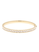 Ted Baker Clemara Hinge Crystal Gold Bangle