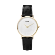 CLUSE Minuit La Perle Black & Gold Watch