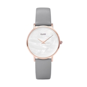 CLUSE Minuit La Perle Rose Gold & Grey Watch