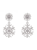 Ted Baker Sanciia Snowflake Drop Earrings