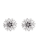 Ted Baker Sattine Snowflake Stud Earrings