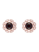 Ted Baker Seraa Crystal Daisy Lace Stud Earrings