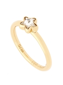 Ted Baker Coreene Crystal Star Ring