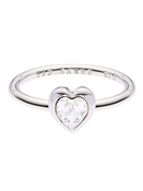 Ted Baker HENRRIA CRYSTAL HEART RING
