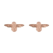 Olivia Burton 3D Bee Rose Gold Studs