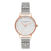 Olivia Burton 3D Bee Embellished Strap Mesh Watch