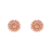 Olivia Burton 3D Daisy Rose Gold Stud Earrings