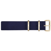 Paul Hewitt Gold and Navy NATO Large Strap