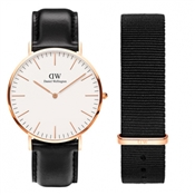 Daniel Wellington Sheffield and Cornwall Strap Gift Set